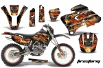 Yamaha WR250/400/426F Graphics Kit 1998-2002