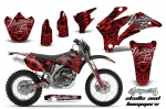 Yamaha WR250F WR450F Graphics Kit 2007-2011