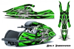 Kawasaki 800 SX-R Jet Ski Graphics Kit 2003-2012
