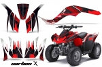 Kawasaki KFX 90 2007-2012 Graphics Kit