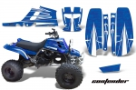 Yamaha Banshee 350 Graphics Kit for Full Bore Plastics