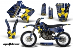 Yamaha YZ125 YZ250 2 Stroke Graphics Kit 1993-1995