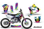 Yamaha YZ125 2 Stroke Graphics Kit 1991-1992