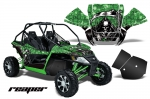 Arctic Cat Wildcat UTV Side x Side Graphic Kit - Includes Rock Guard Graphics