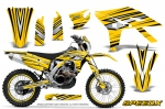 Yamaha WR450F Graphics Kit 2012-2015