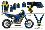 Husaberg FS/FE Graphics Kit 2006 - 2008