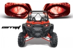 RZR Head Light Eye Graphics for all Polaris RZR Models