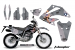 Honda XR250 SM Super Moto Graphics Kit 2003-2005