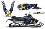Yamaha Apex Snowmobile Graphics Kit 2011-2016