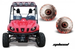 Yamaha Rhino Head Light Eye Graphics for all Rhino Models