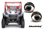 Kawasaki Teryx Head Light Eye Graphics for Teryx Models 2010-2012