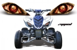 Yamaha Raptor Head Light Eye Graphics for Raptor 700/250/350