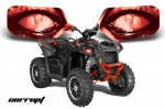 Polaris Scrambler Head Light Eye Graphics for Scrambler 2010-2013