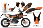 KTM Adventurer 690 2008-2011 Supermoto Enduro Graphics Kit