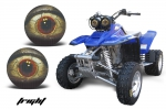 Yamaha Warrior Head Light Eye Graphics for Warrior 350