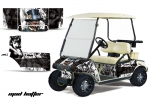 Club Car Golf Cart Graphics Kit 1996-2012
