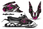 Yamaha Apex Snowmobile Graphics Kit 2006-2011