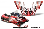 Polaris 700XC, 800XCR, 600 RMK, Touring Snowmobile Graphics 99-03
