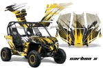 Can-Am BRP Maverick 1000 X rs 1000r Graphics Kit - 2013+