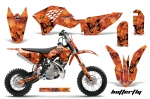 KTM SX 50 Adventurer,Jr,Sr Graphics Kit 2009-2012