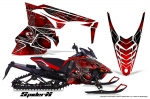 Yamaha Viper SR/SRT Snowmobile Graphics Kit 2014-2015