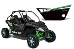 Arctic Cat Wildcat 1000 2 Door Graphic Kit for Pro Armor Doors - Factory Black