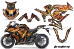 Kawasaki ZX1000 Ninja Graphics Kit 2010 - 2013