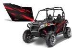 Polaris XP RZR 800/900 CREATORX Graphic Kit for OEM Polaris Doors