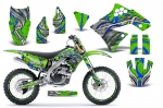 Kawasaki KX250F 2009-2012 Graphics Kit