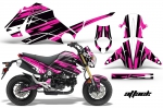 Honda Grom 125 Graphics Kit 2013-2015