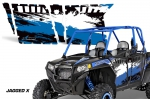 Polaris RZR 900 4 Door Graphics Kit