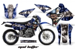 Suzuki DRZ 400 S/SM Metal Tank 2000-2016 Graphics Kit