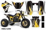 Yamaha Tri Z 250 Three Wheeler 1985-1986 Graphics Kit