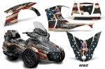 Can-Am BRP Spyder RTS 2014-2016 Graphics with Trim Kit