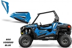 Polaris RZR 900S XC Lower Half Door Insert Graphic Kit - 2 Door
