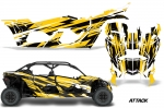Can-Am BRP Maverick X3/X DS/ X RS 4 Door 2016-2018 Graphics Kit