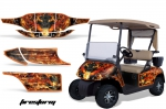 EZGO Golf Cart Graphic Kit