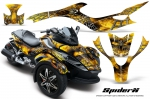 Can-Am BRP Spyder RS GS Graphics Kit