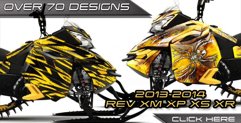 Ski-Doo Rev XM CREATORX Graphics
