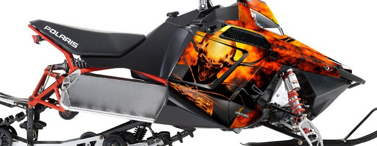 Polaris Rush CREATORX Graphics Kit Pure Evil