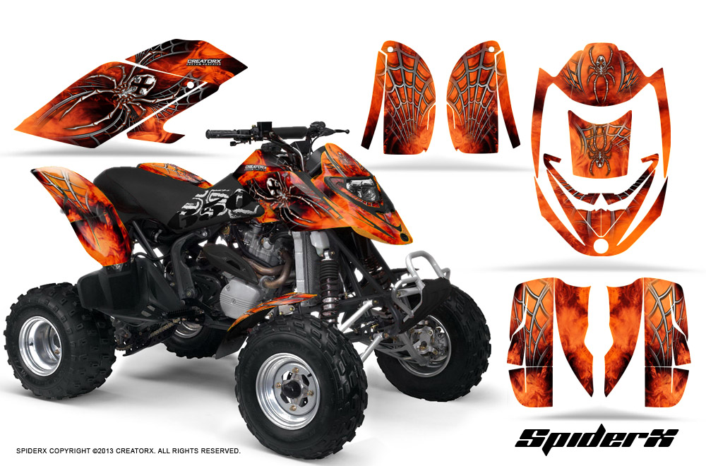 Can Am Ds 450 >> CAN-AM DS650 BOMBARDIER GRAPHICS KIT DS650X CREATORX ...