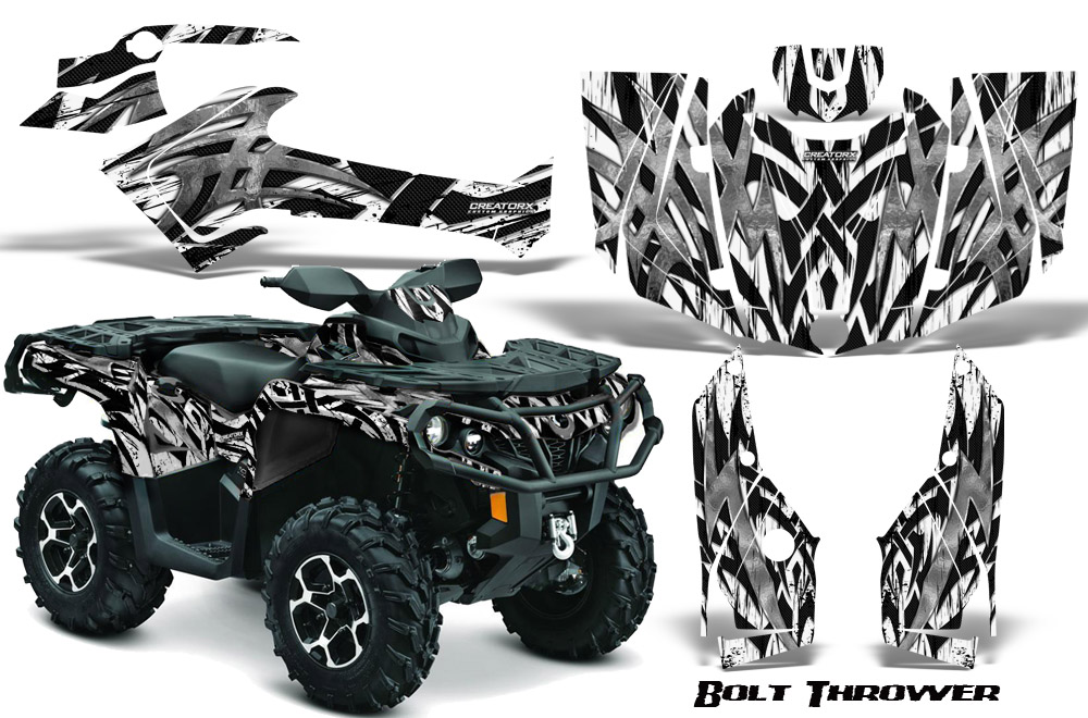Details About Can Am Outlander 800 1000 R Xt 12 16 Graphics Kit Decals Stickers Btw