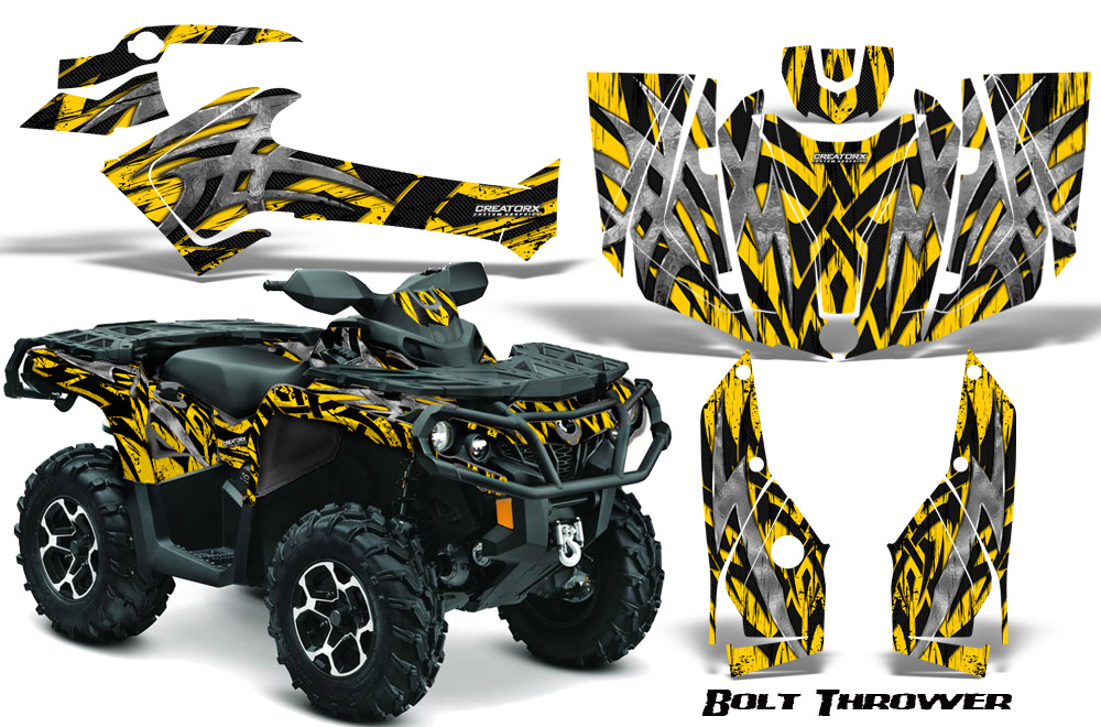 Details About Can Am Outlander 800 1000 R Xt 12 16 Graphics Kit Decals Stickers Bty