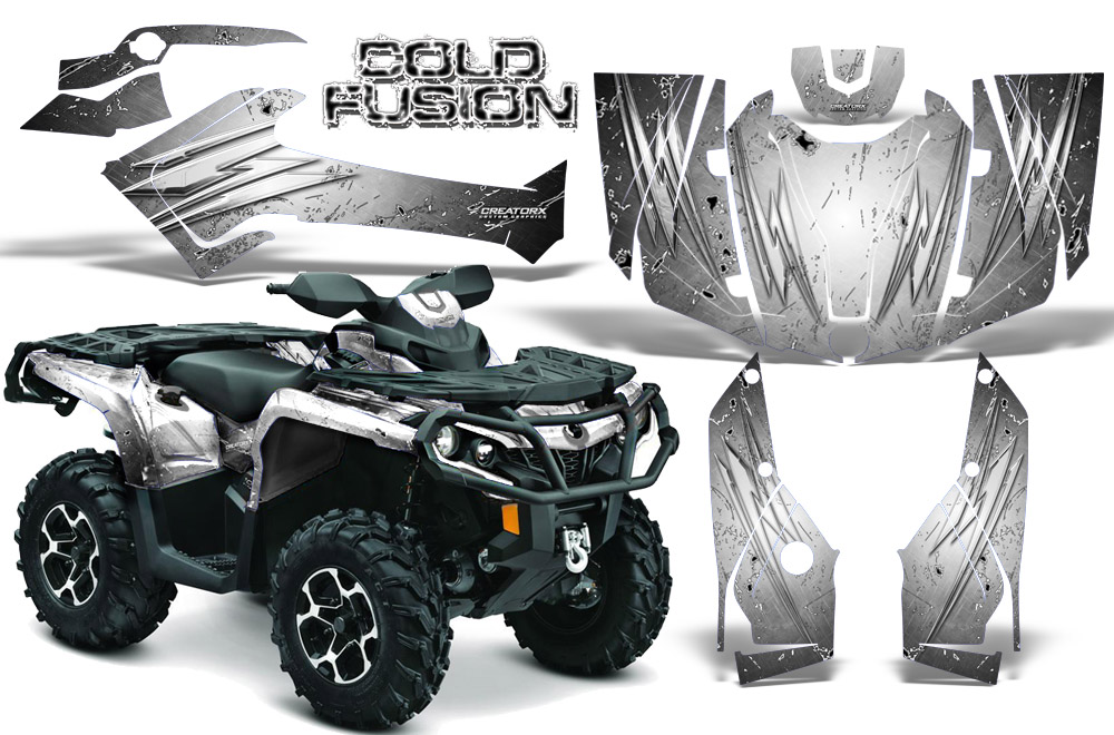CAN-AM OUTLANDER 800 1000 R XT 12-16 GRAPHICS KIT DECALS STICKERS BTO