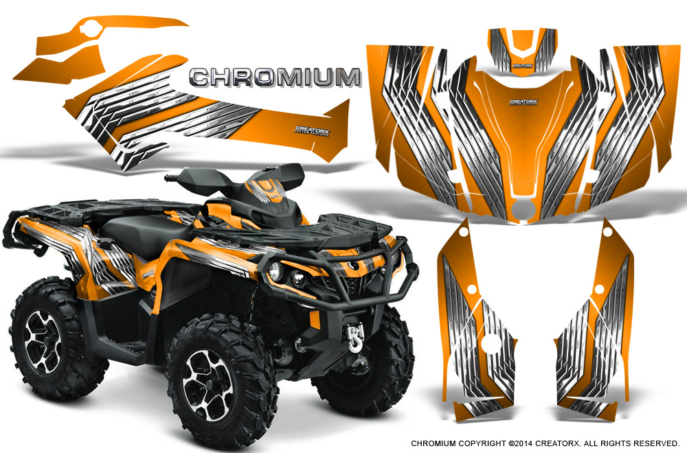 ATV Graphics Kit Decal Wrap For Can-Am Outlander 500//650//800//1000 06-11 MELT Y R