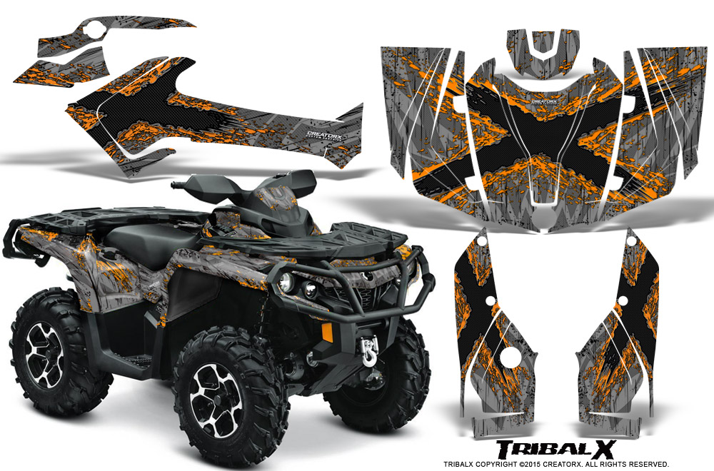 Can Am 1000 >> Can Am Outlander 500 650 800 1000 2013 2018 Graphics Kit Creatorx