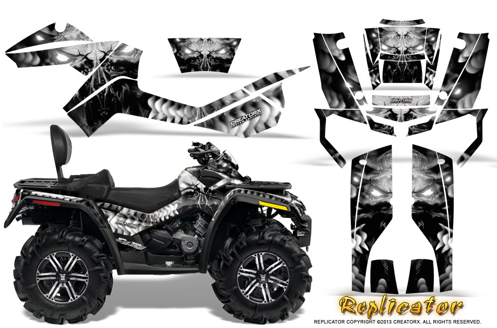 Can-Am Renegade Graphics Kit by CreatorX Decals Stickers RCS