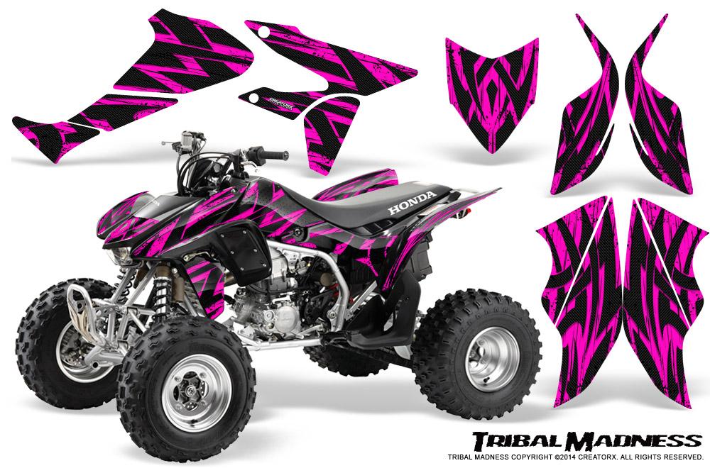 HONDA TRX450R TRX 450 R 2004-2016 GRAPHICS KIT CREATORX DECALS STICKERS TMP