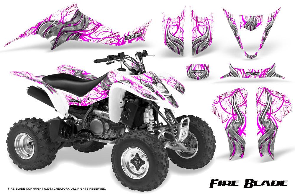03-06 Kawasaki KFX 400 BOTH Front Wheel Bearing and Seal Kits
