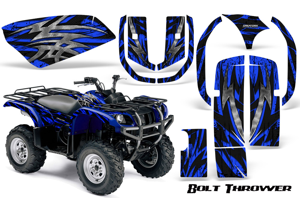 New creatorx custom graphics kit for graphic kit for grizzly 660